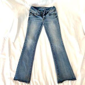 AE Kick Boot Super Stretch Jeans (SHORT)